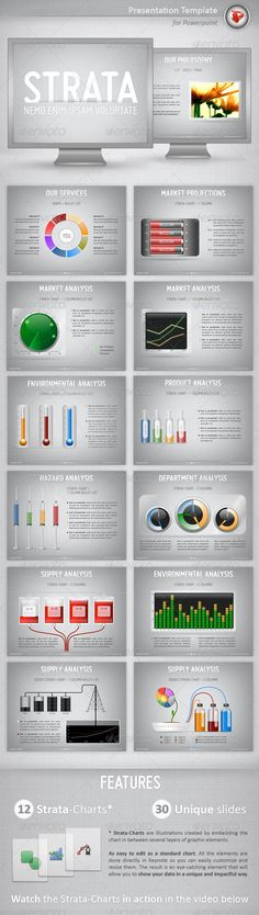 White Radish Design - TruLiving Homes Presentation Poster QIR - interactive powerpoint template
