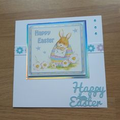Handmade personalised fun / cute Easter cards – 3 designs FREE UK P