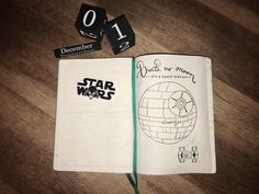 Star Wars Theme - December Cover Page