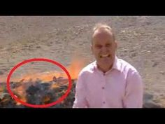 BBC News Reporter Inhales Burning Drugs And Can't Finish Report