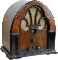 Listen to old time radio shows for free. Hear some of the greatest shows ever produced for radio and some recordings of major historical events. Retro Radios, Tvs, Televisions, Mystery Show, Art Nouveau, Old Time Radio, The Lone Ranger, Architecture Design, Record Players