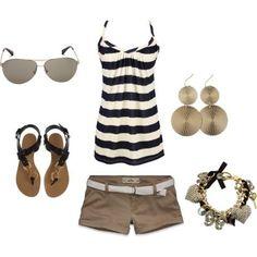 Cute beach outfit:)