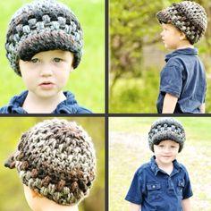 Crochet boy hat