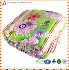 Check out this product on Alibaba.com App:BOON Blossom Flower Printed Flannel Fleece One ply Blanket Stripped https://m.alibaba.com/AZjmma