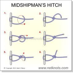 Midshipman's Hitch--this site says this knot works better than the tautline so we could try it as well @jmshires68