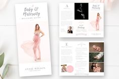 Trifold Brochure Flyer by By Stephanie Design on @creativemarket