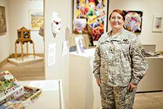 Seeking to heal through art: Veteran Art Show- The Healing Arts Program