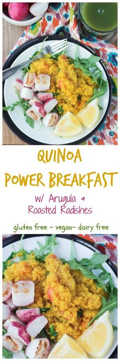 quinoa power breakfast start your morning off right with protein and veggies this power
