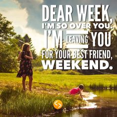 Anyone else ready for this week to be over? Tag a friend you'll be enjoying this weekend with.  #weekend #beautifulday #imanageprojects #teamleader #friends #tag