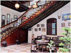 Pinang peranakan mansion main staircase