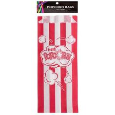 Red & White Striped Popcorn Bags--at Michaels Movie Popcorn, Candy Popcorn, Popcorn Bags, Butter Popcorn, Carnival Birthday Parties, Birthday Party Themes, Birthday Ideas, Pink Drive, Snow Cone Stand