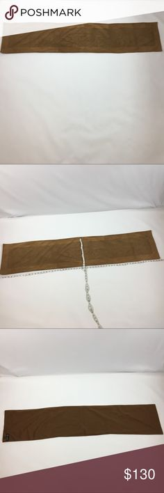 COLOMBO SCARF PURÉ CASHMERE - WOVEN IN ITALY COLOMBO SCARF PURÉ CASHMERE WOVEN IN ITALY. Super soft and in very good condition. The color is brown and tan. COLOMBO Other