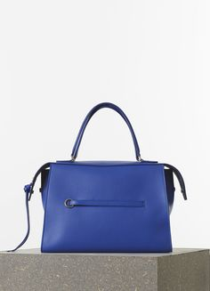 d13666eae7 Céline Spring 2015 - Medium Ring Handbag in Indigo Soft Grained Calfskin