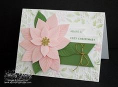 Stampin' Up! Reason for the Season Stamp Set and Festive Flower Builder Punch
