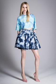 Bleached Denim | Fausto Puglisi, pre-spring/summer 2015 fashion collection