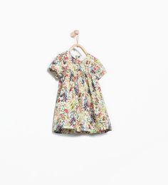 Imagem 1 de Vestido com estampado de flores da Zara