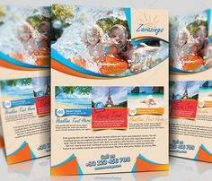 sample travel flyers