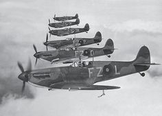 65 Squadron RAF, where Jack Kennedy served in 1940, from 'Australian Eagles: Australians in the Battle of Britain' by Kristen Alexander. Spitfire Airplane, Ww2 Spitfire, Supermarine Spitfire, Military Aircraft, Ww2 Aircraft, Fighter Aircraft, Fighter Jets, Airplane Fighter, Military Weapons