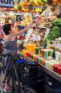 La Boqueria (Barcelona, Spain) 35 Food Markets Around The World To Put On Your Travel Bucket List