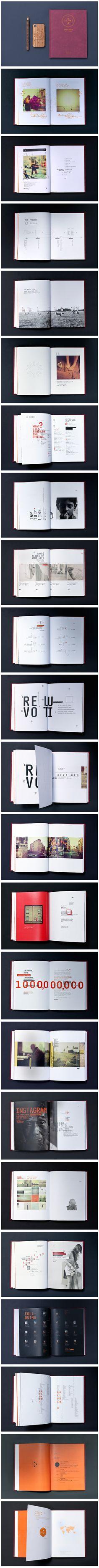 Instagram, a visual journey book #creative #layout #magazine