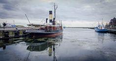 The historic steam-icebreaker S/S Bjørn in Elsinore (Helsingør)