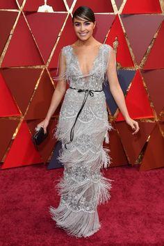 """Olivia Culpo in Marchesa at Oscars 2017, Оливия Калпо в Marchesa """"Оскар 2017"""""""
