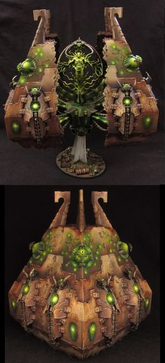 Necron Tesseract Vault