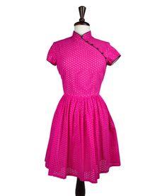 Pink Modern Qipao