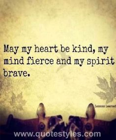 May my heart- Life quotes