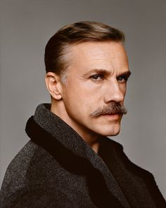 Christoph Waltz para Fantastic Man Fall/Winter 2014