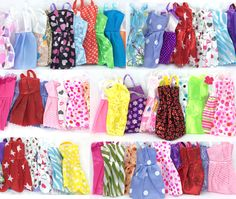 Cheap dress baby clothes, Buy Quality dresse directly from China clothes box with lid Suppliers: NK 16 Items/Lot=10 Pcs Mix Sorts Beautiful Party Clothes Fashion Dress +6 Pcs Plastic Necklace For Barbie Doll Best Gift Toys