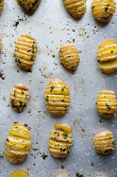 Hasselback Garlic an