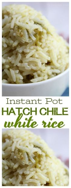 Kick traditional white rice up a notch with the addition of green chiles and minced garlic in a flavorful chicken broth.
