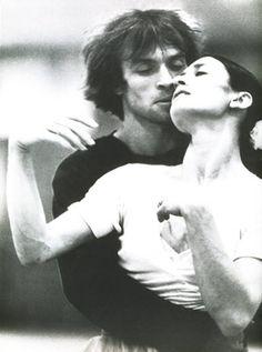Carla Fracci e Rudolph Nureyev