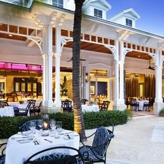 Latitudes is secluded, but it's no secret: It was named Key West's Best Overall Restaurant of 2016 by Open Table. Key West Florida, Florida Keys, Florida Trips, Fl Keys, South Florida, South Carolina, Key West Restaurants, Chicago Restaurants, Key West Sunset