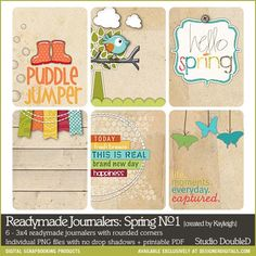 Readymade Journalers: Spring No. 01