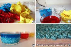 Jak zrobić kolorowy ryż - elementy zajęć sensorycznych - Malinowa Planeta Tile, Mosaics, Tiles, Backsplash