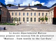 Matisse : from textile to the Cut-Outs Museum Architecture, Henri Matisse, Cut Outs, Textiles, Mansions, House Styles, Art, Paint, Mansion Houses