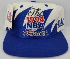 f2ab1c44edb 1994 NBA Finals Vintage Snapback Logo Athletic Sharktooth Hat NBA Cap NWT Rare  Nba Caps