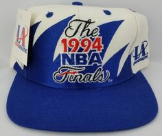 00f1f6c06b3 1994 NBA Finals Vintage Snapback Logo Athletic Sharktooth Hat NBA Cap NWT  Rare