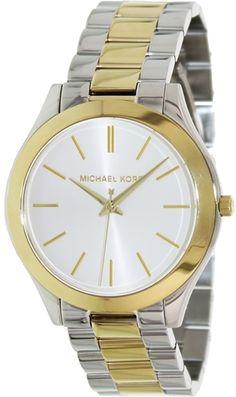 Michael Kors MK3198 Ladies Two Tone Watch : Disclosure: Affiliate link $148.49