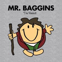 Mr. Baggins t-shirt: hells to the yes!