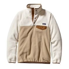 NWOT Patagonia Snap Pullover | White patterns and Patagonia