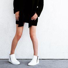 Fancy - Becca/002 Rock White Sneaker