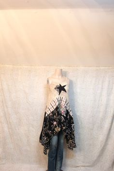 Hey, I found this really awesome Etsy listing at https://www.etsy.com/listing/234061256/revival-womens-upcycled-boho-shirt