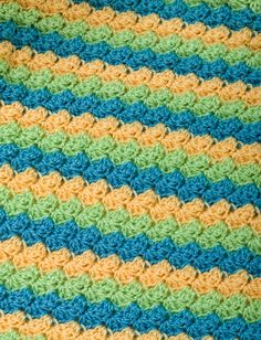 Yarnspirations.com - Caron Soft Shells Baby Blanket - Patterns  | Yarnspirations