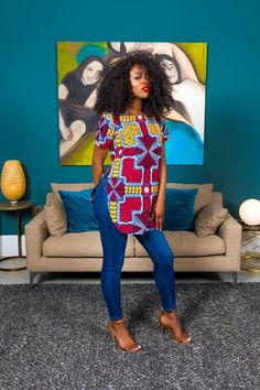 Ankara Galore African Print Nesse Top Work Apparel Article Body: Any job you do will require some ty African Fashion Ankara, African Fashion Designers, Latest African Fashion Dresses, African Dresses For Women, African Print Fashion, Africa Fashion, African Attire, African Women, African Style