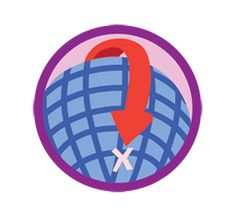 Girl Scouts | For Girls » Geocacher Badge Explorer  1. Prepare for your adventure 2. Learn to use a GPS receiver 3. Make a trade item 4. Go on a geocaching adventure 5. Take part in a bug's travels!