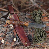 Bushcraft Knife @ Jabakerknives.com