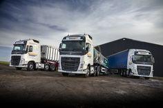 Fuel efficient Volvos help Hornigold Haulage hit the 'sweet spot'